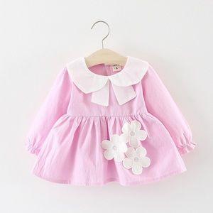 ✨2 For $40✨ - Pat Pat Appliqué Long Sleeve Dress